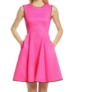 kate spade pink dress size 6 new without tags